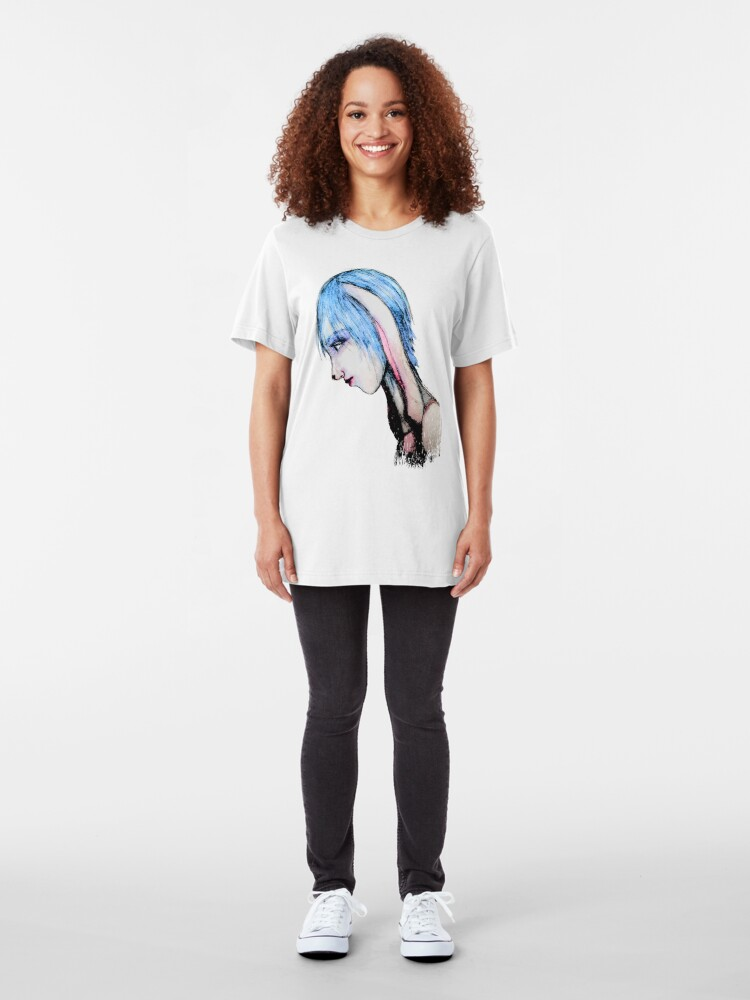 Alternate view of My Bunny Girl Slim Fit T-Shirt