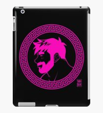 ADAM LIKES GREECE - PINK GLAM iPad Case/Skin