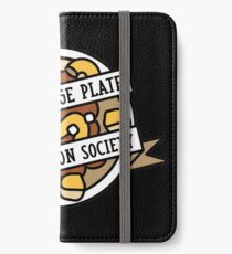 Plate Appreciation Society iPhone Flip-Case/Hülle/Skin