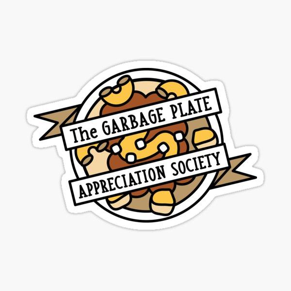 Plate Appreciation Society Sticker