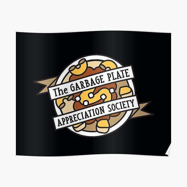 Plate Appreciation Society Poster