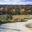 Fall on Kentucky Backroads by G. David Chafin