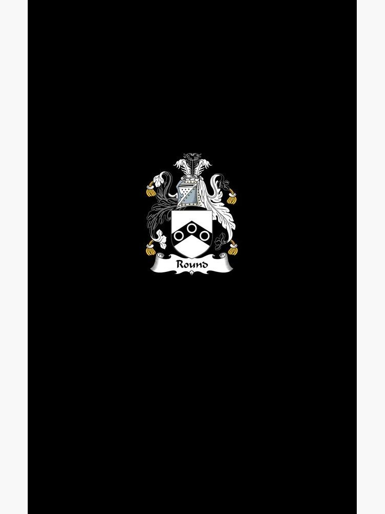 Round Coat of Arms - Family Crest Shirt von FamilyHeraldry