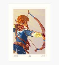 30 Years - Legend of Zelda Art Print