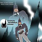 Ulm's Comic Superhero The Münster Mann by dave-ulmrolls