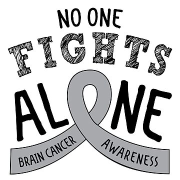 Brain Cancer Awareness Ribbon von graphicloveshop