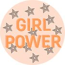 GIRL POWER - CIRCLE STYLE 2 by Maddison Green