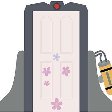 Boo's Door by graphicloveshop