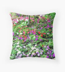 """""""Colors Galore"""" Throw Pillow"""