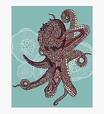 Octopus Bloom Photographic Print