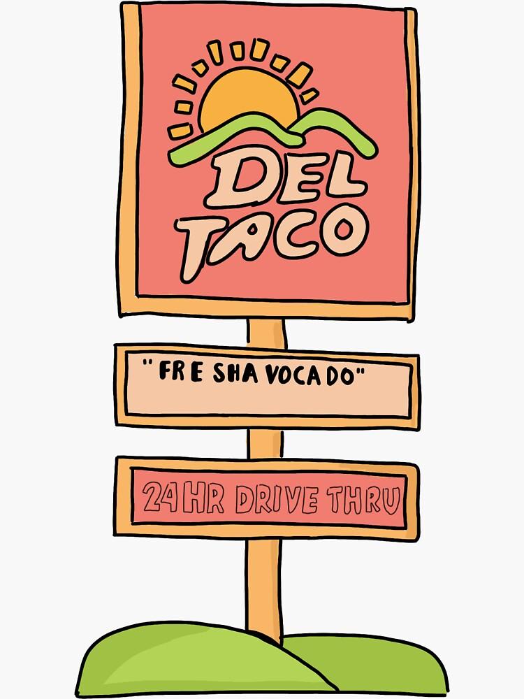 Vine-FRE SHAVOCADO - Del Taco by Molski