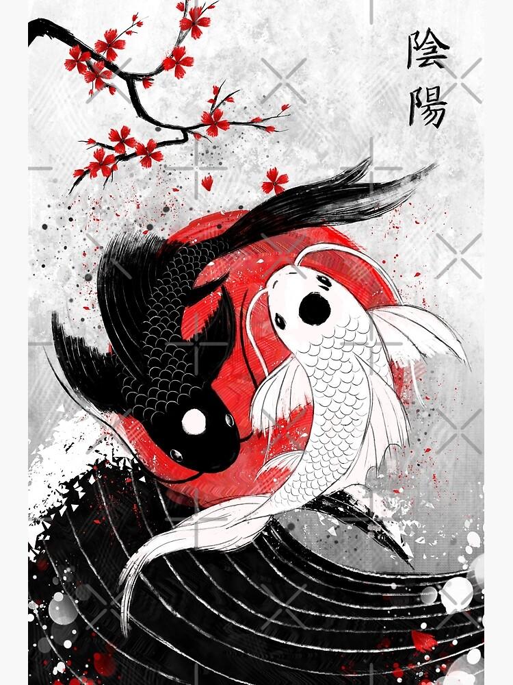 Koi fish - Yin Yang by Ruby-Art