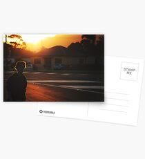 summer in suburbia Postcards