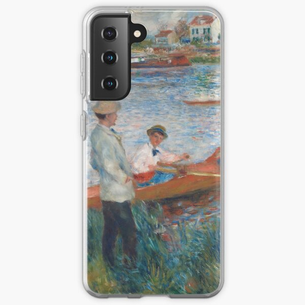 Auguste Renoir, Oarsmen at Chatou, 1879 Painting Samsung Galaxy Soft Case