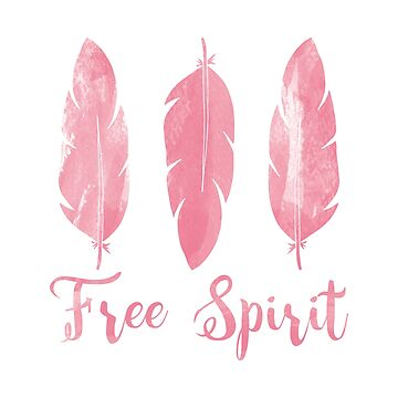 Free Spirit Feathers by graphicloveshop