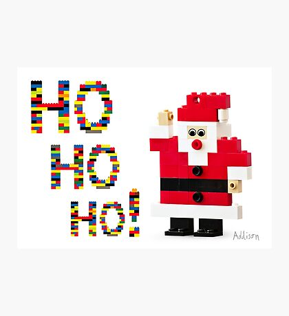 Ho Ho Ho! Photographic Print