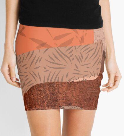 Nope - Lazy Red Cat Mini Skirt