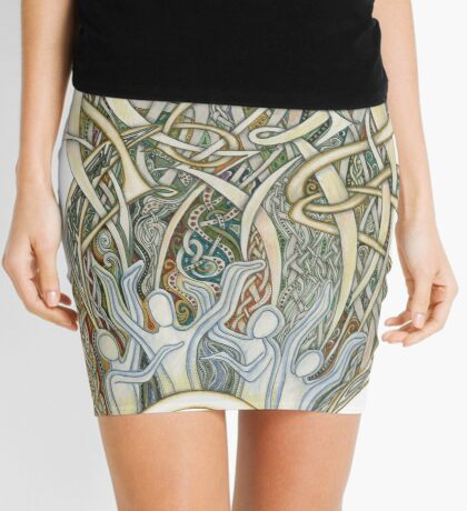 Let Our Voices Rise Like Incense Mini Skirt