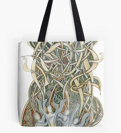 Let Our Voices Rise Like Incense Tote Bag