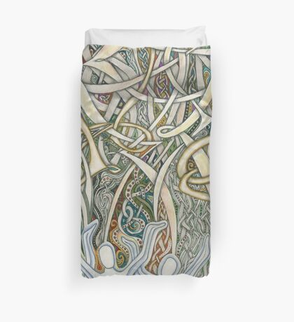 Let Our Voices Rise Like Incense Duvet Cover