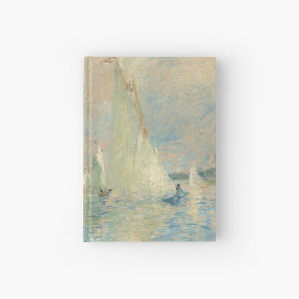 Auguste Renoir, Regatta at Argenteuil, 1874 Painting Hardcover Journal