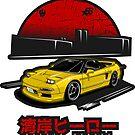 Wangan Heroes NA1 - Yellow - Sticker by BBsOriginal