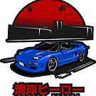 Wangan Heroes NA1 - Blue - Sticker by BBsOriginal