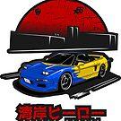 Wangan Heroes NA1 - Spoon - Sticker by BBsOriginal