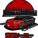 Wangan Heroes NA1 - Bloody - Sticker by BBsOriginal