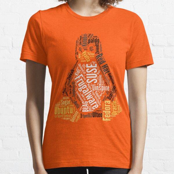 Tux Typo Essential T-Shirt