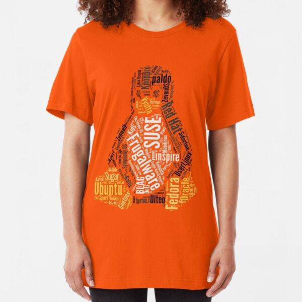 Tux Typo Slim Fit T-Shirt