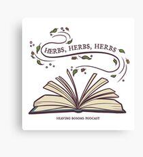 Herbs, herbs, herbs....  Canvas Print
