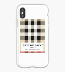 burberry classic iPhone Case