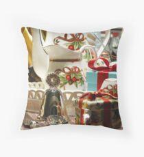 Christmas Setting, Series 3 Throw Pillow