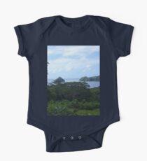a desolate Palau landscape One Piece - Short Sleeve