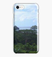 a desolate Palau landscape iPhone Case/Skin