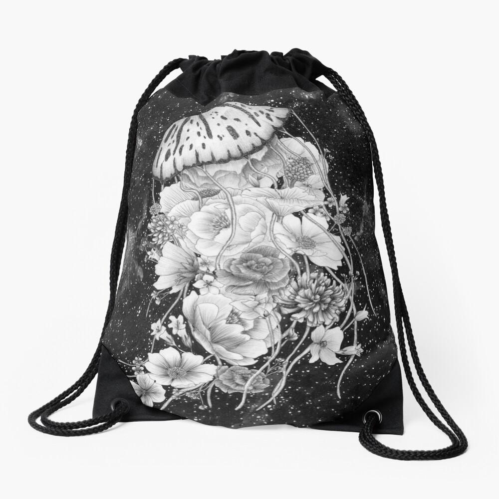 Magic Ocean: The Jellyfish Drawstring Bag