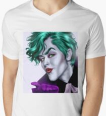 MWAH T-Shirt mit V-Ausschnitt für Männer