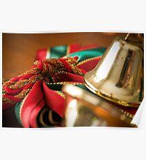 Christmas Ribbon Poster