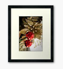 Christmas Balls Framed Print