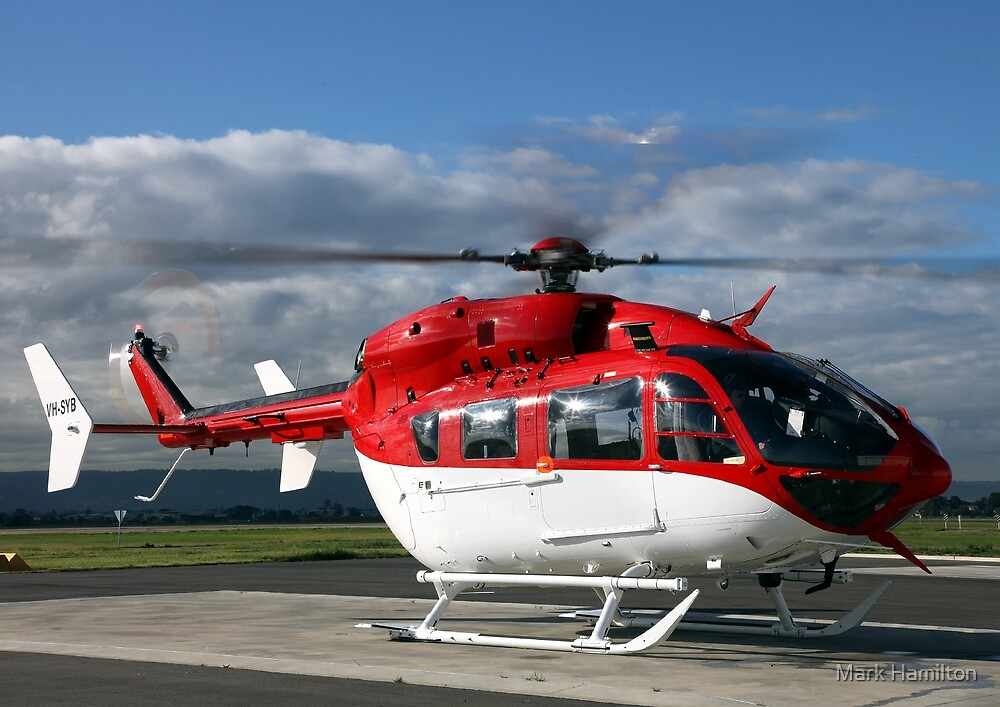 Helicopter Eurocopter EC145 #2 by Mark Hamilton
