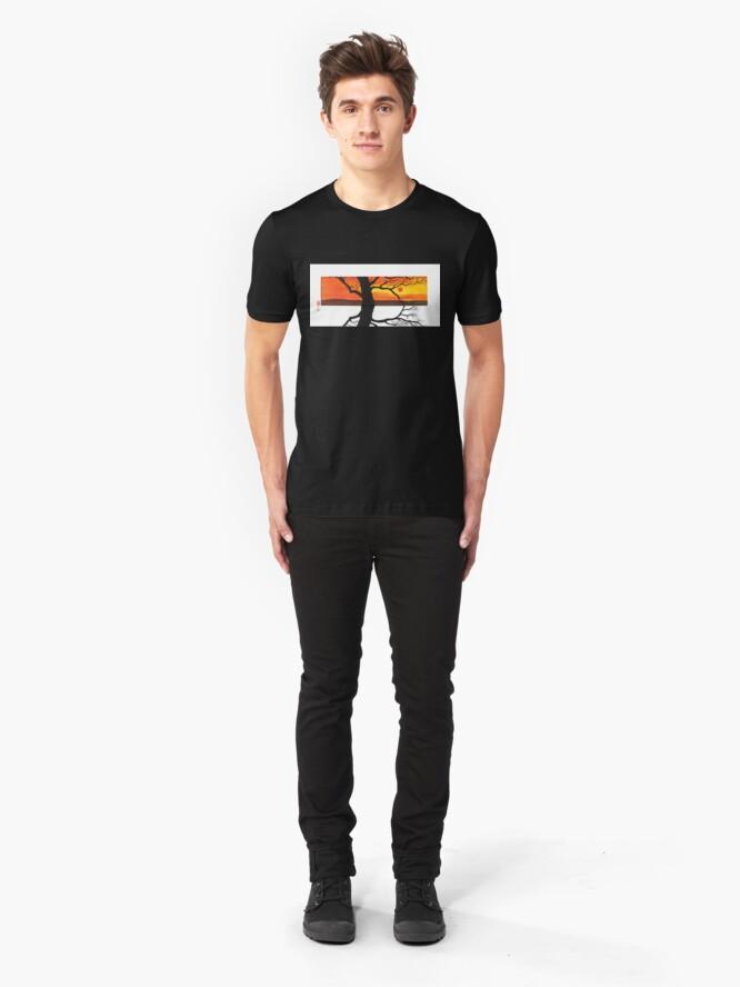 Alternate view of Fire Moss Slim Fit T-Shirt
