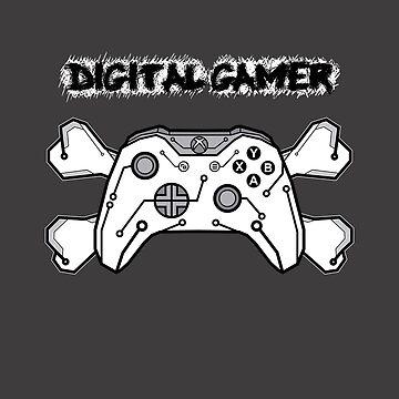 Digital gamer by Caldofran