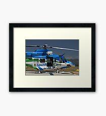 Helicopter Bell 412 #2 Framed Print