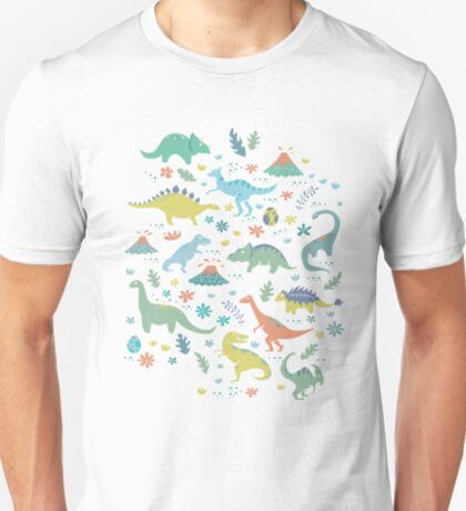 Dinosaurs and Volcanoes T-Shirt