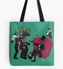 Classy animal party Tote Bag