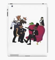 Classy animal party iPad Case/Skin