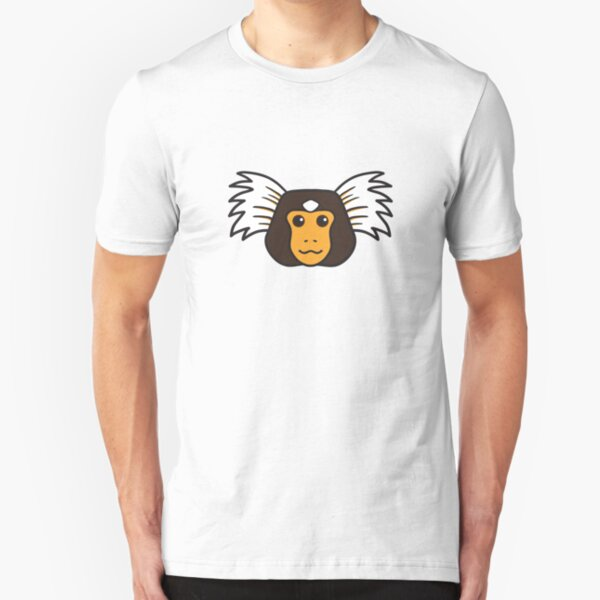 Marmoset Monkey Slim Fit T-Shirt