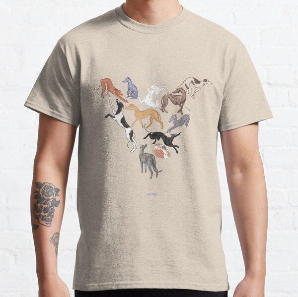 Greyhound Love - Adopt Classic T-Shirt