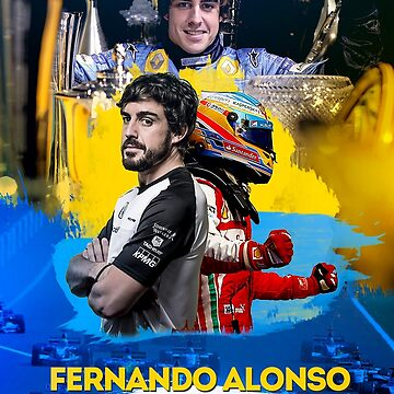 Fernando Alonso by rubiohiphop